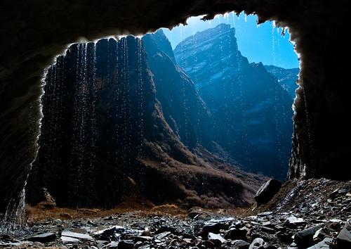 nepal mountains trekking melting glacier himalayas abctrek annapurnabasecamptrek