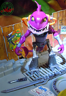 Nickelodeon  TEENAGE MUTANT NINJA TURTLES :: FISHFACE { tOkKUSTOM PROTOYPICAL fish-market WASH } ii (( 2012 ))