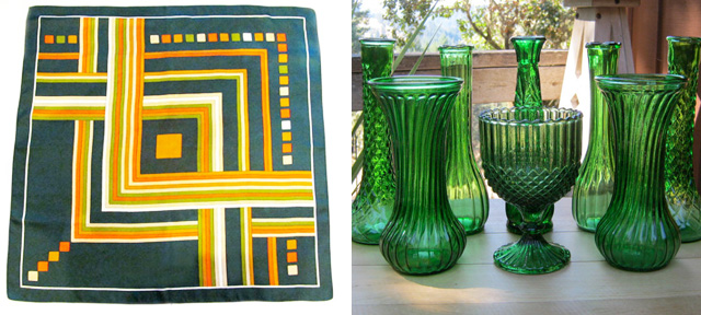 emerald green etsy round up color of the year vintage 3