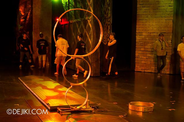Acrobat rings - gold