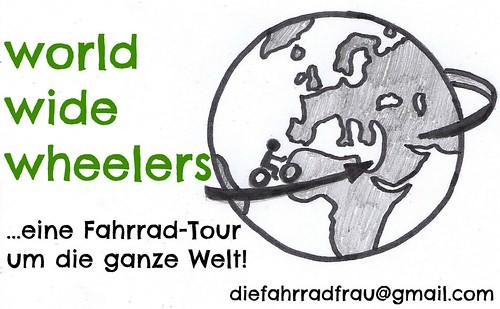 Fahrradtour rund um die Welt