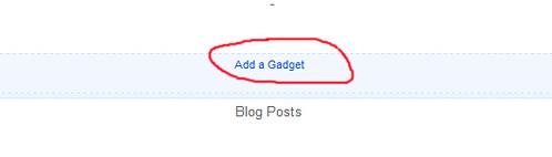 ad gadget blogspot