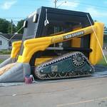 skidsteer inflatable