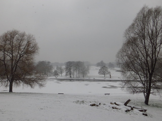 Hampstead Heath in the Snow