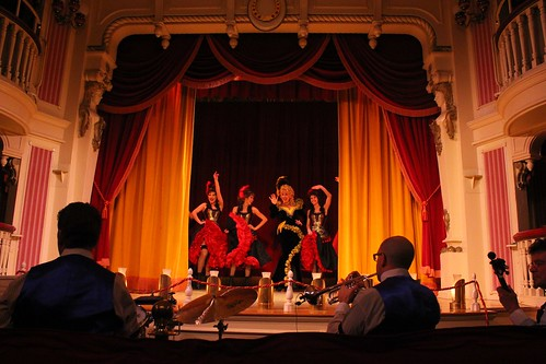 Golden Horseshoe Revue salute at Disneyland