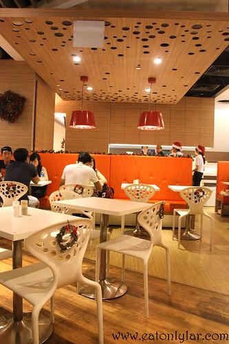 Interior, Hot Tomato Café & Grill