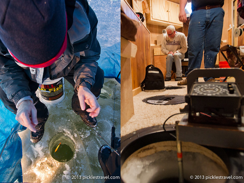 Cold vs. Warm Ice Fishing