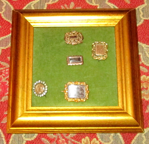 Georgian sentimental brooches/pins