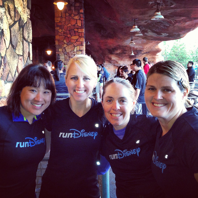 Krissy, Casey, Jenn, and Julie. Photo via @caseyruns