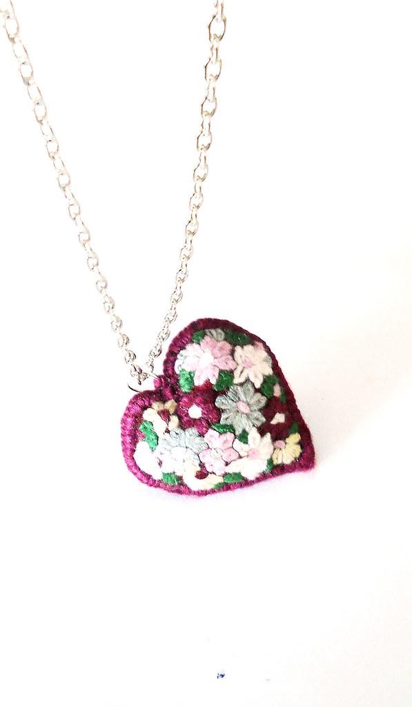 flores para un corazón