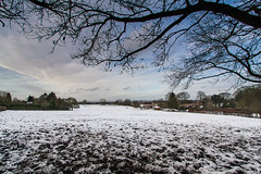 Snowy view from Dancersend