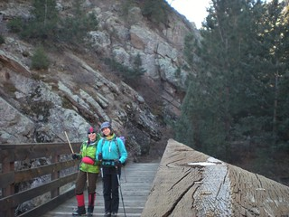 Two Nuts on South Boulder Creek Bridge