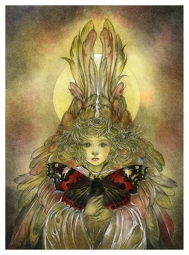 005-La primera mariposa- Nature Spirits-Sulamith Wülfing -Via www.dana-mad.ru