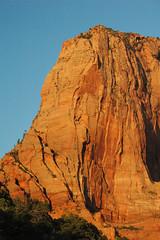 Navajo Sandstone (Lower Jurassic), Paria Point near sunset, Kolob Canyons, Zion National Park, sw Utah 2