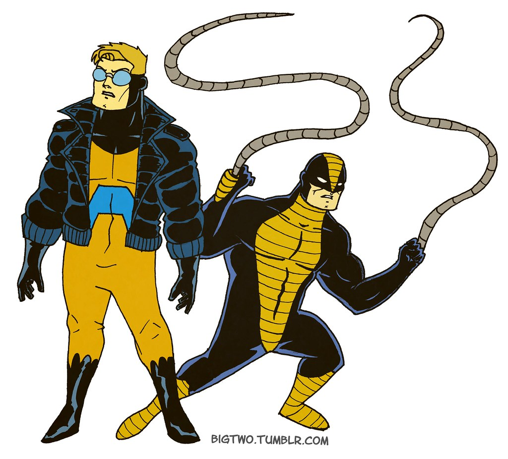 ANIMAL MAN & CONSTRICTOR