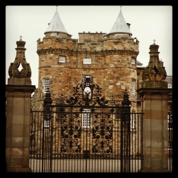 Holyrood Castle Edinburgh Uk Once Residence To Mary Queen