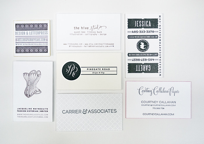 Alt Summit Business Cards 2013 - Black and White