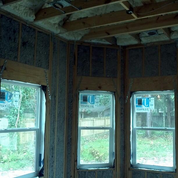 open cell spray foam roof deck cellulose exterior walls portfolio