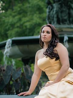 Belle in Central Park