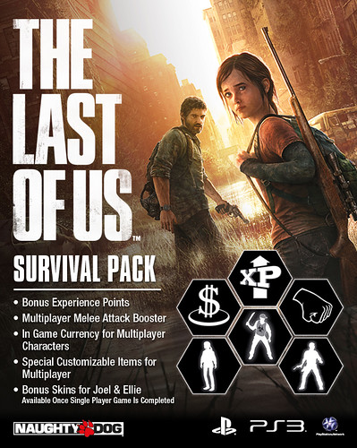 The Last of Us on PS3: Survival Pack