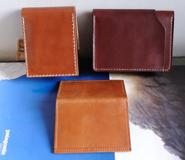 Shell Cordovan Leather Wallet