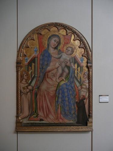 DSCN3287 _ Madonna col Bambino, angeli e il donatore Giovanni da Piacenza, de' Crocefissi, c 1378