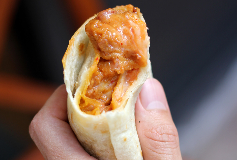 8259524107 0de5221667 b PHOTO: Bean and Cheese Burrito