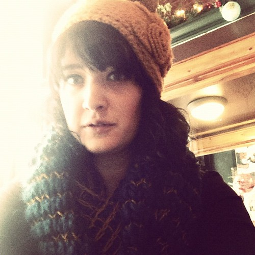 I love that it's cold enough here to wear all of my hand knits. #winteristhesecondbestseason