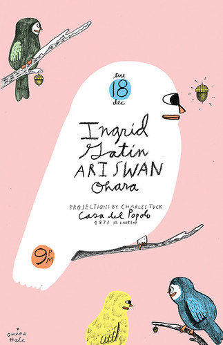 INGRID GRATIN /ARI SWAN/ OHARA poster by Ohara.Hale