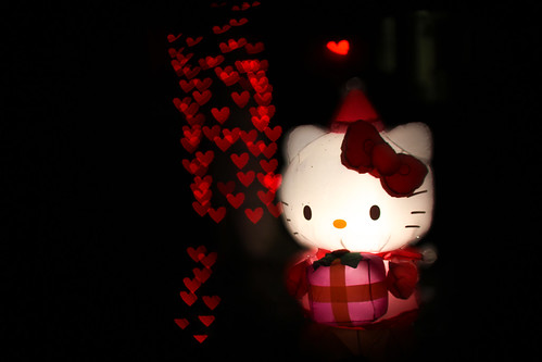 343/365: Hello Kitty Loves Christmas Lights