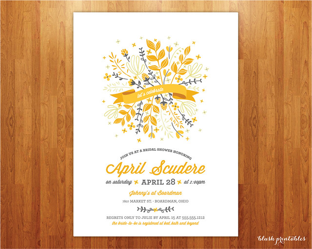 bridal-shower-invitation-botanical-spring-summer-wedding-shower-flowers-printable-jpeg-yellow-orange-cream