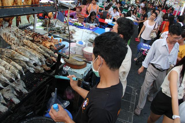 Ratchaprasong Thai Food, Bangkok, Thailand