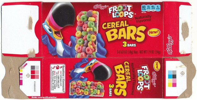 Froot Loops Cereal Bars Froot Loops Cer...