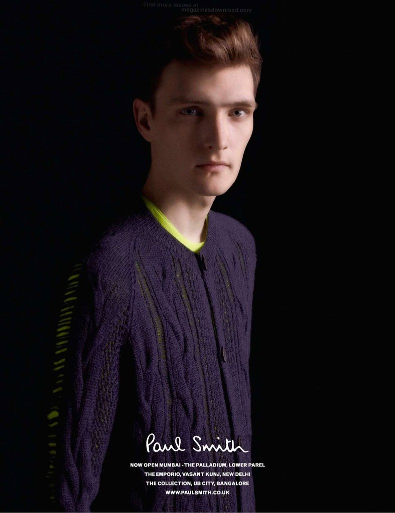 Yannick Abrath0006_Paul Smith AW12