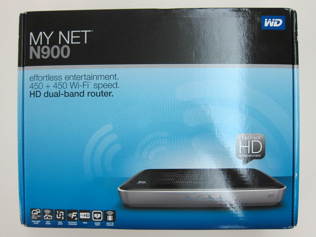 WD My Net N900 Router - Box Front