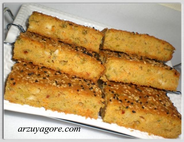 pırasalı çörek