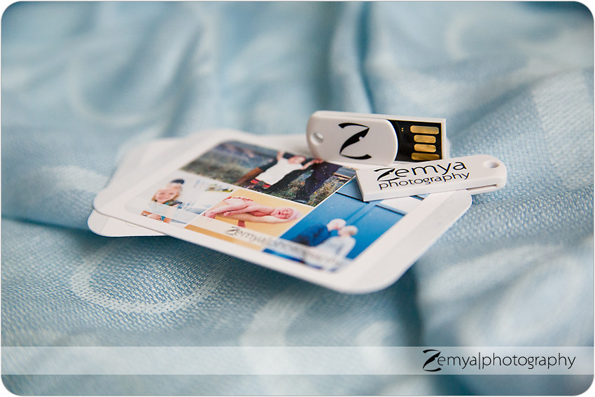 Zemya Photography USB Packaging
