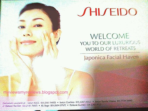 Shiseido Japonica Facial Haven
