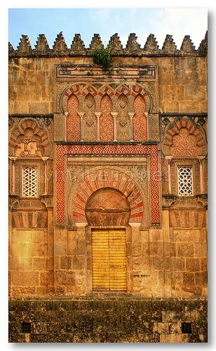 Porta do Espírito Santo da Mesquita de Córdova by VRfoto
