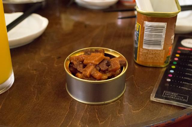 熊肉の缶詰
