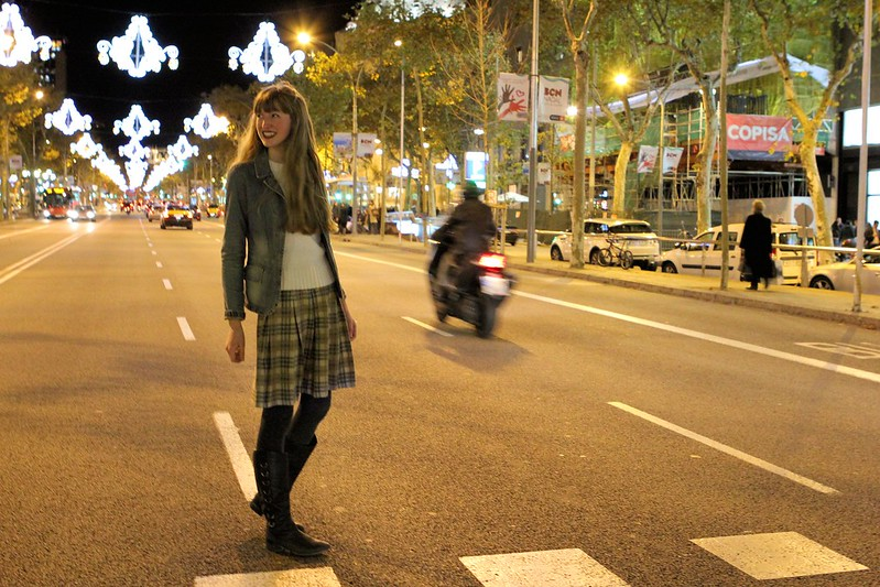 Barcelona Christmas Lights