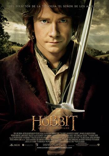 El Hobbit. Cartel de la película