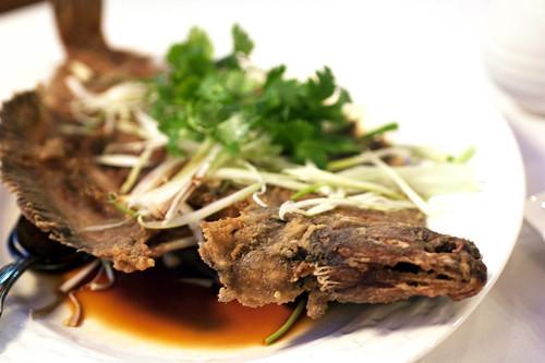 fried flounder @ oriental garden