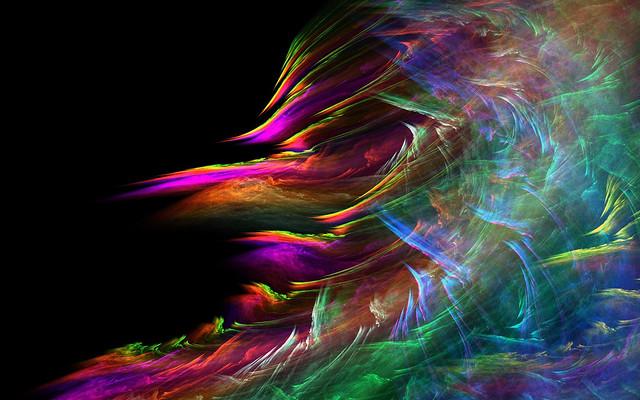 разноцветные вихри