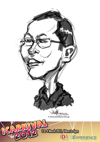 digital live caricature for iCarnival 2012  (IDA) - Day 2 - 43