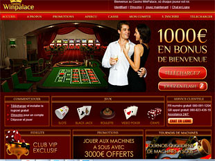 WinPalace Casino Home