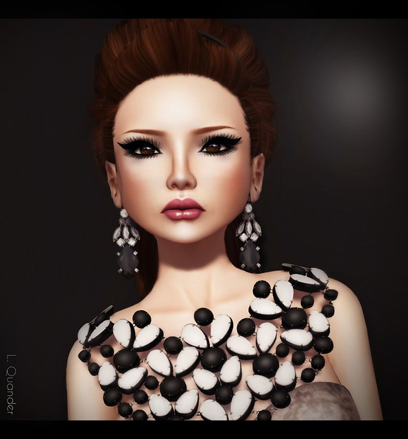 -Glam Affair - Amberly - Europa Frostbite 03 & Grazia Necklace - 06
