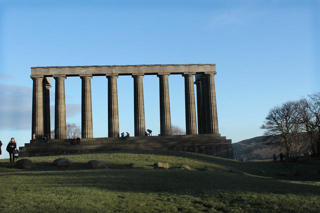 calton hill acropolis