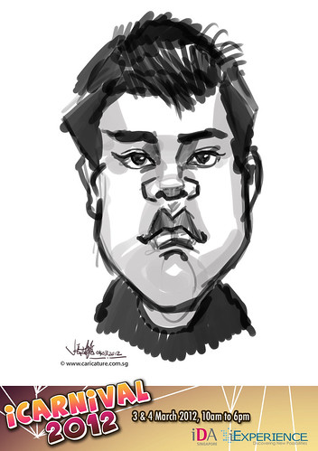 digital live caricature for iCarnival 2012  (IDA) - Day 2 - 58