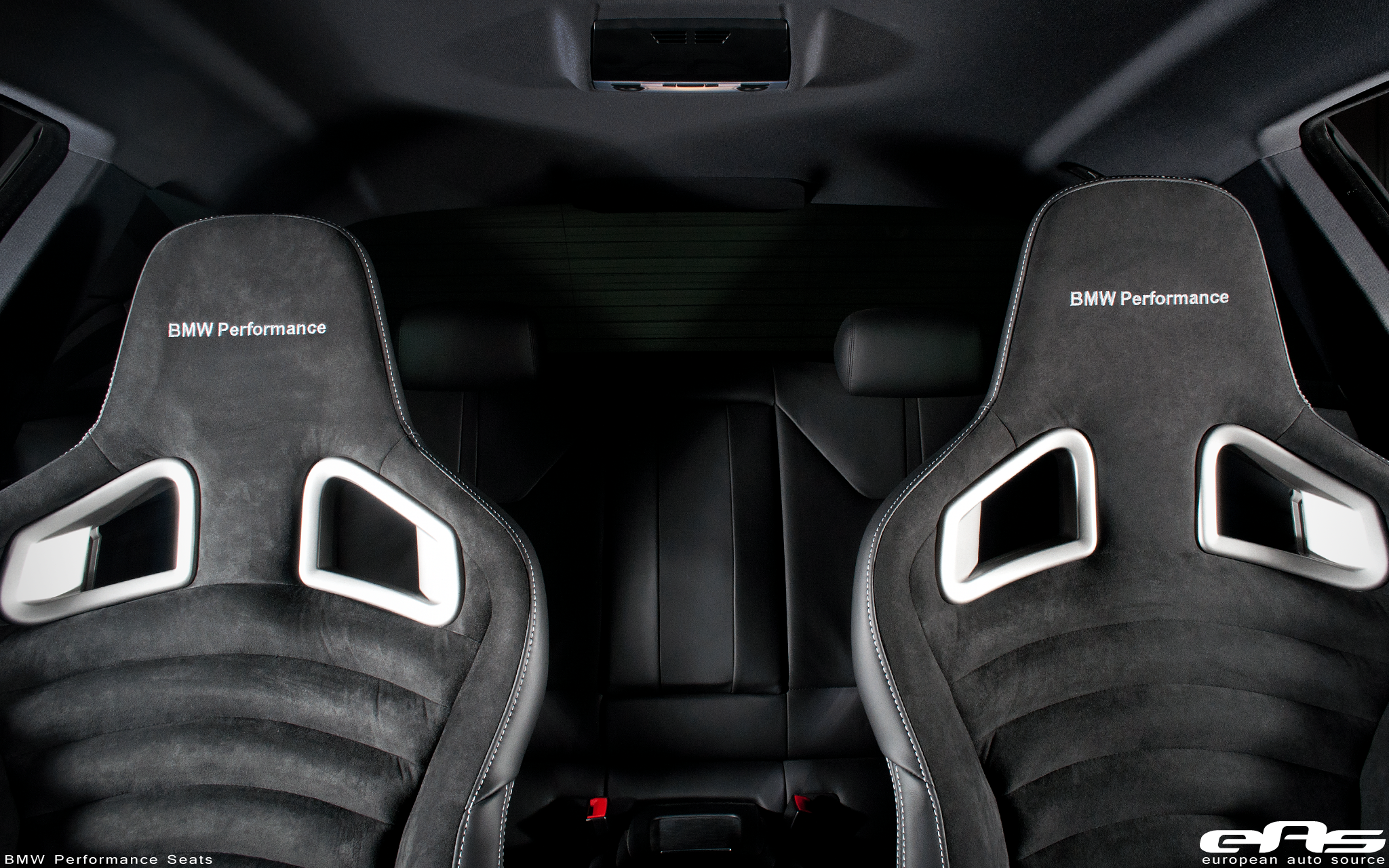 Bmw Performance Seats Installed In A Laguna Seca Blue M3